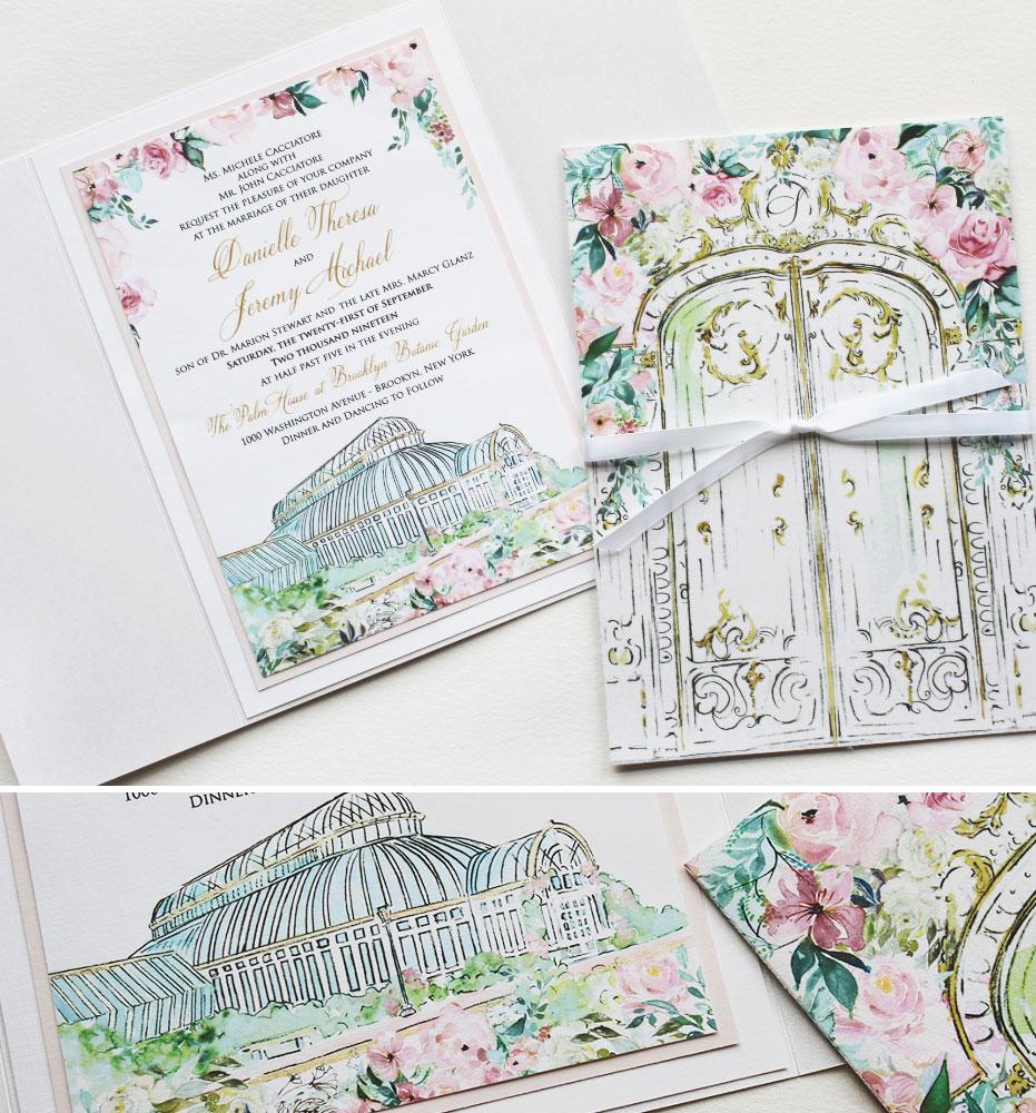 New York City Wedding Invitations