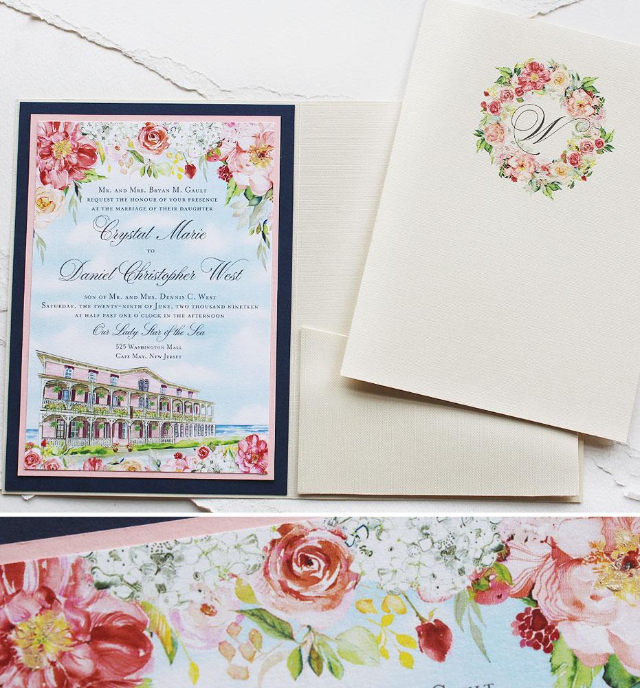 Cape May Wedding Invitations