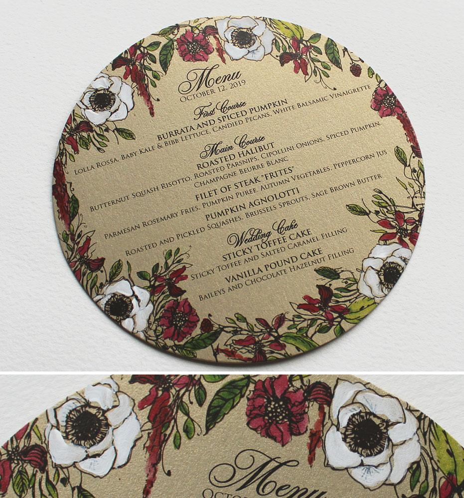 Anemone Wedding Stationery