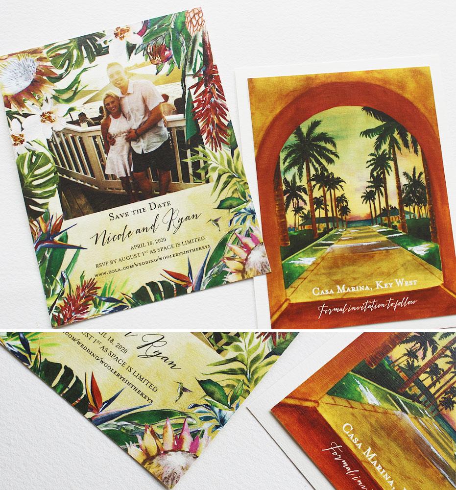 Key West Wedding Save the Dates