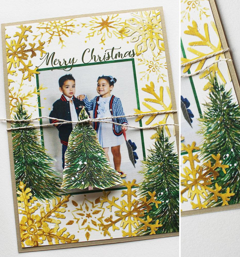 Snowflake Christmas Cards