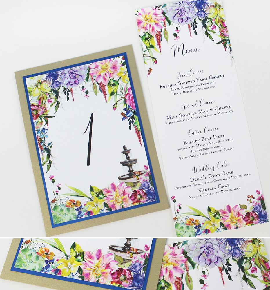 Summer Floral Wedding Day Accessories