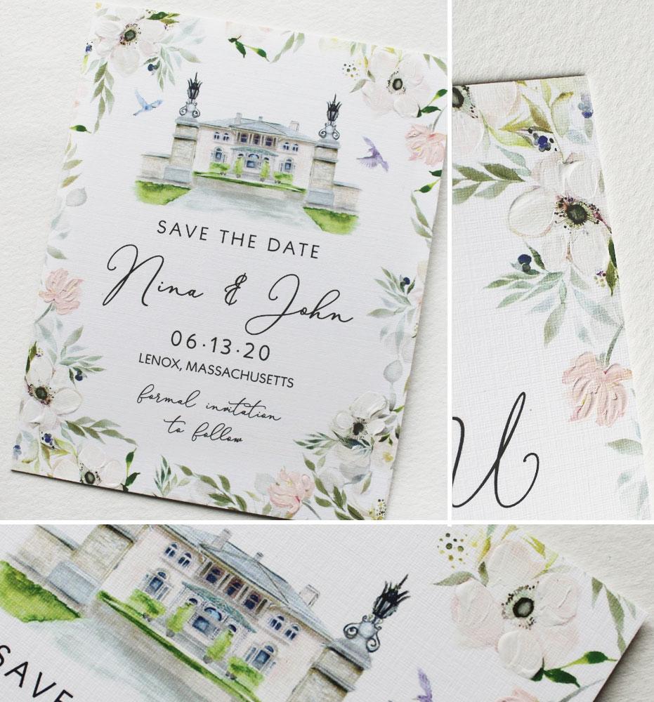 Wheatleigh Wedding Save the Date