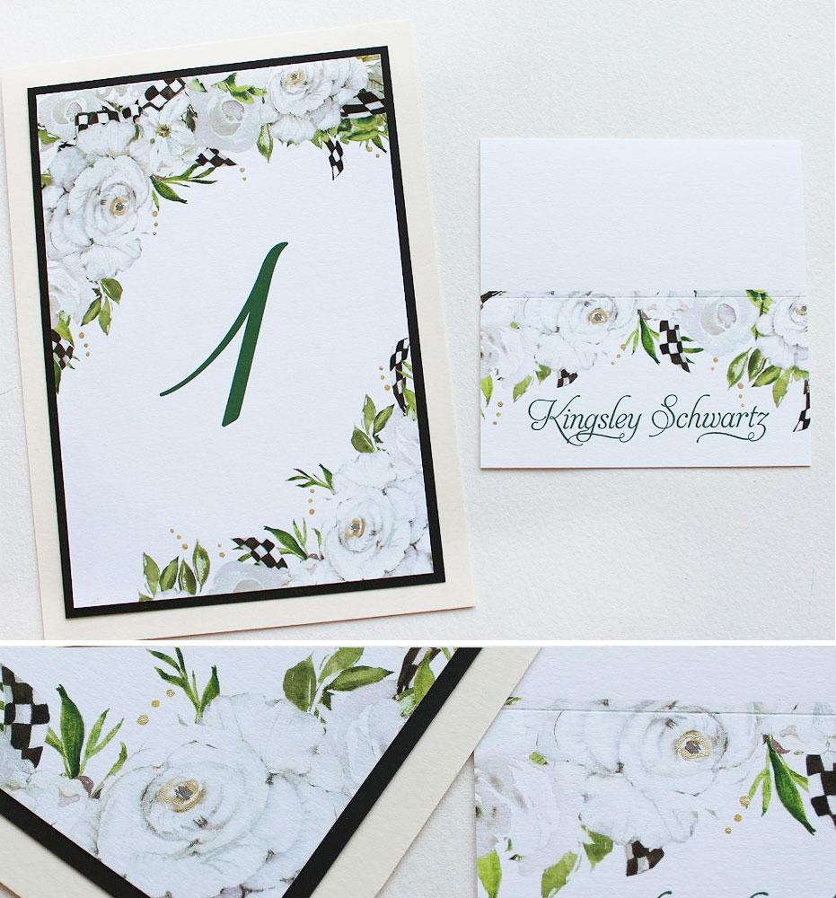 White Rose Wedding Day Accessories