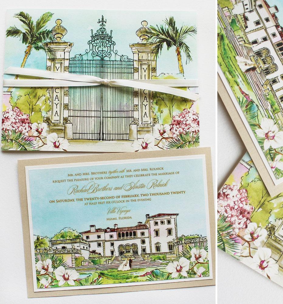Vizcaya Wedding Invitations