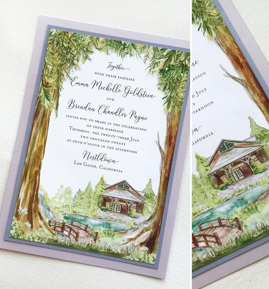 Nestldown Wedding Invitations