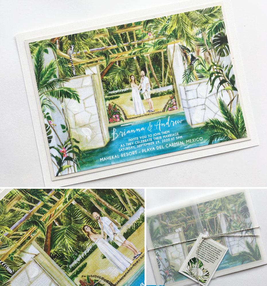 Mexico Wedding Invitations