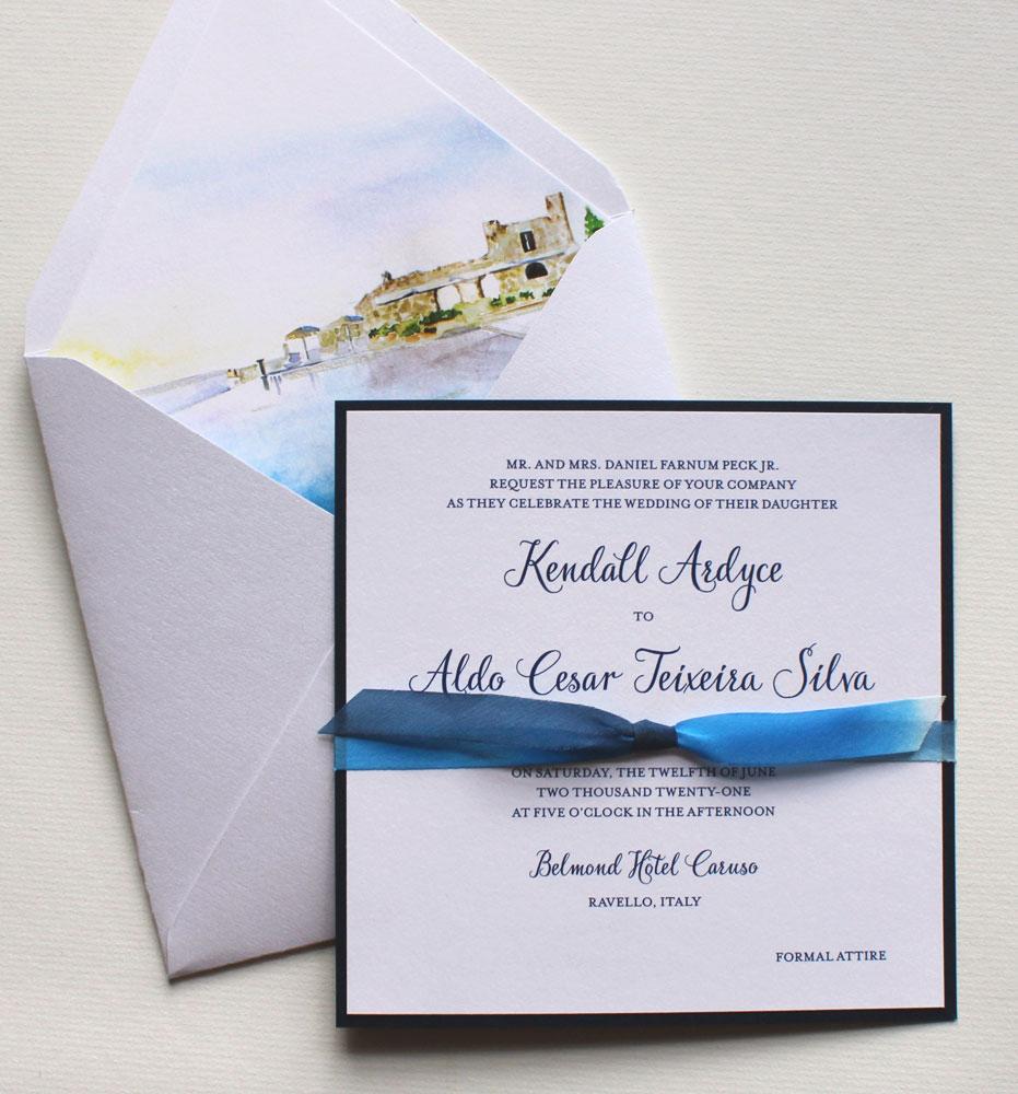 Ravello Wedding Invitations