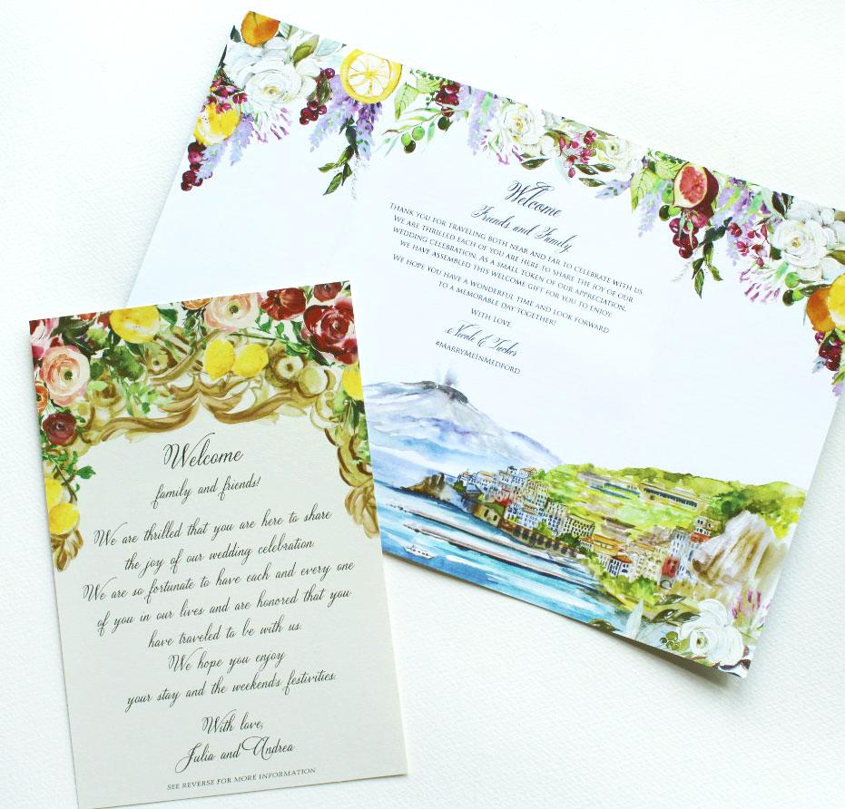 custom-wedding-welcome-notes