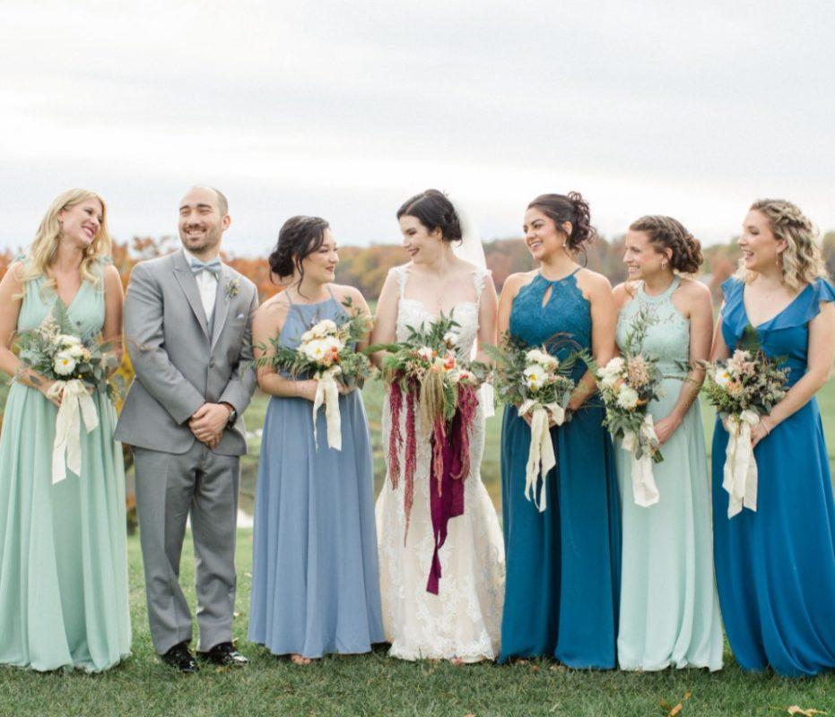 Fall Real Wedding