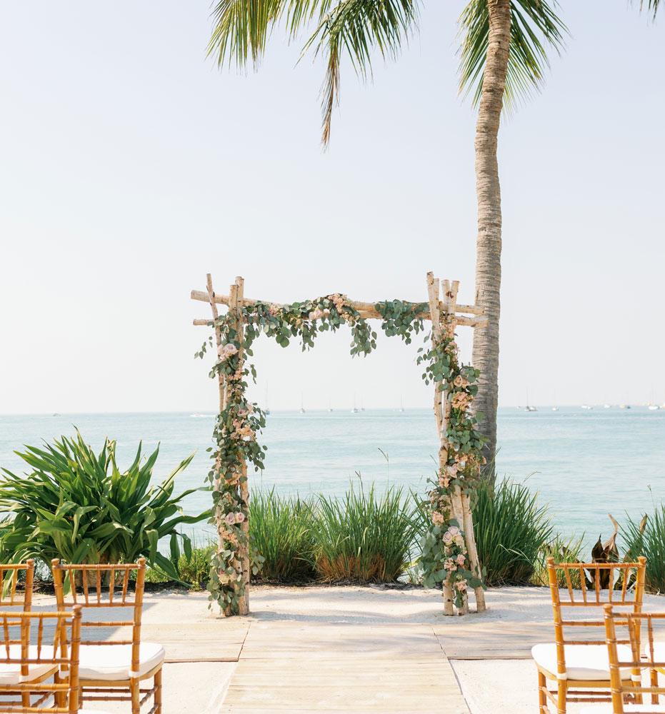 Key West Tropical Beachy Wedding Stationery