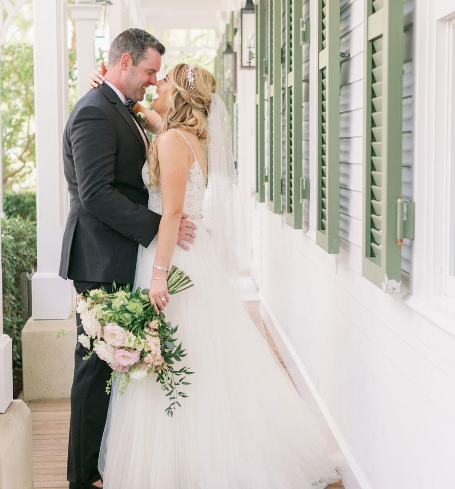 Tropical Floral Wedding in Key West