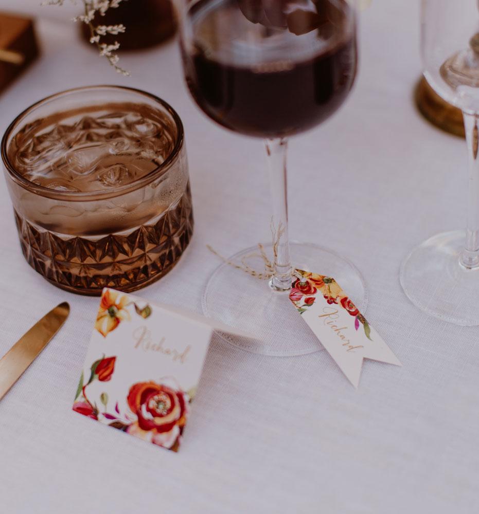 Custom Wedding Place Cards