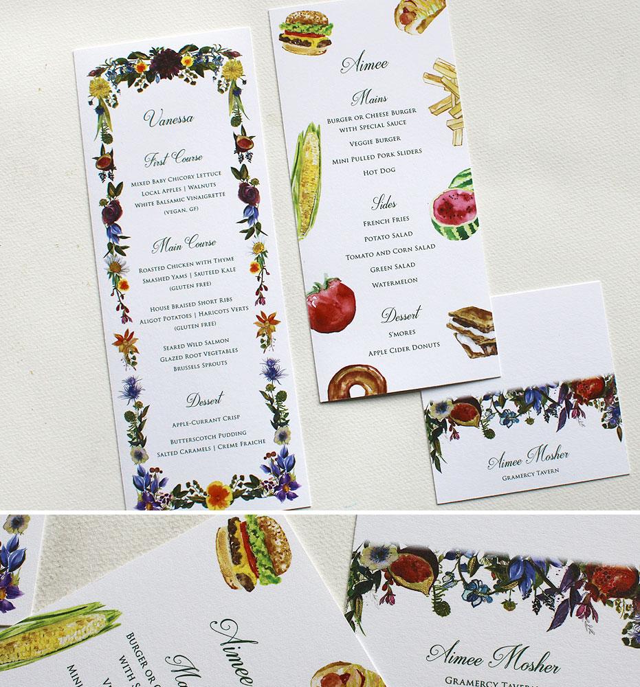 Autumn Floral Wedding Day Accessories